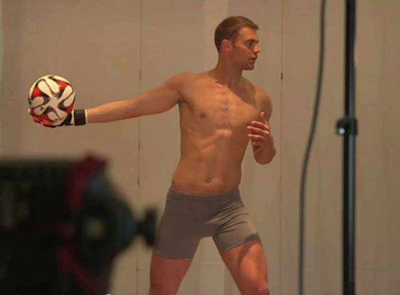 Manuel Neuer underwear photo