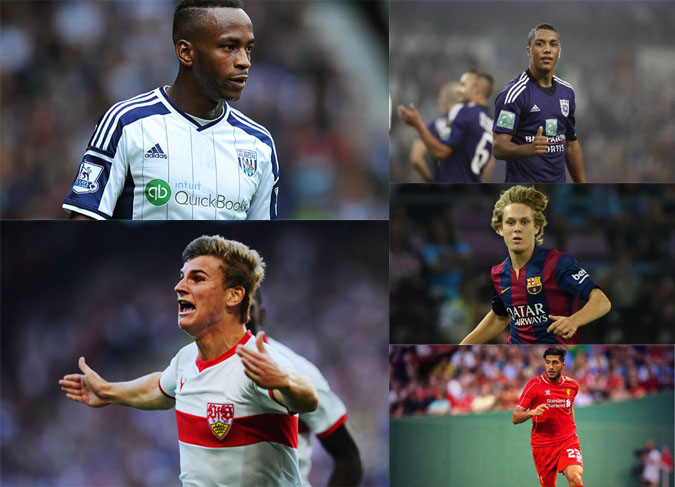Top promising football players for 2015