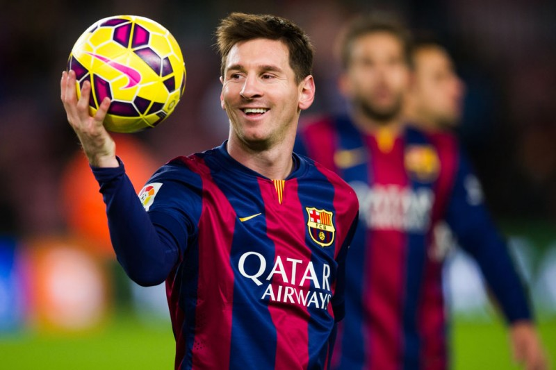 Lionel Messi in FC Barcelona 2014-2015