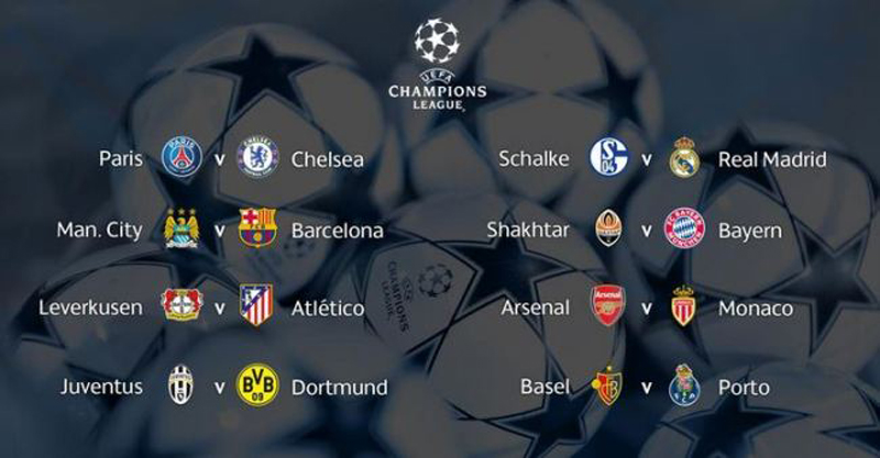look into the knockout rounds of the UEFA Champions League 2014-15