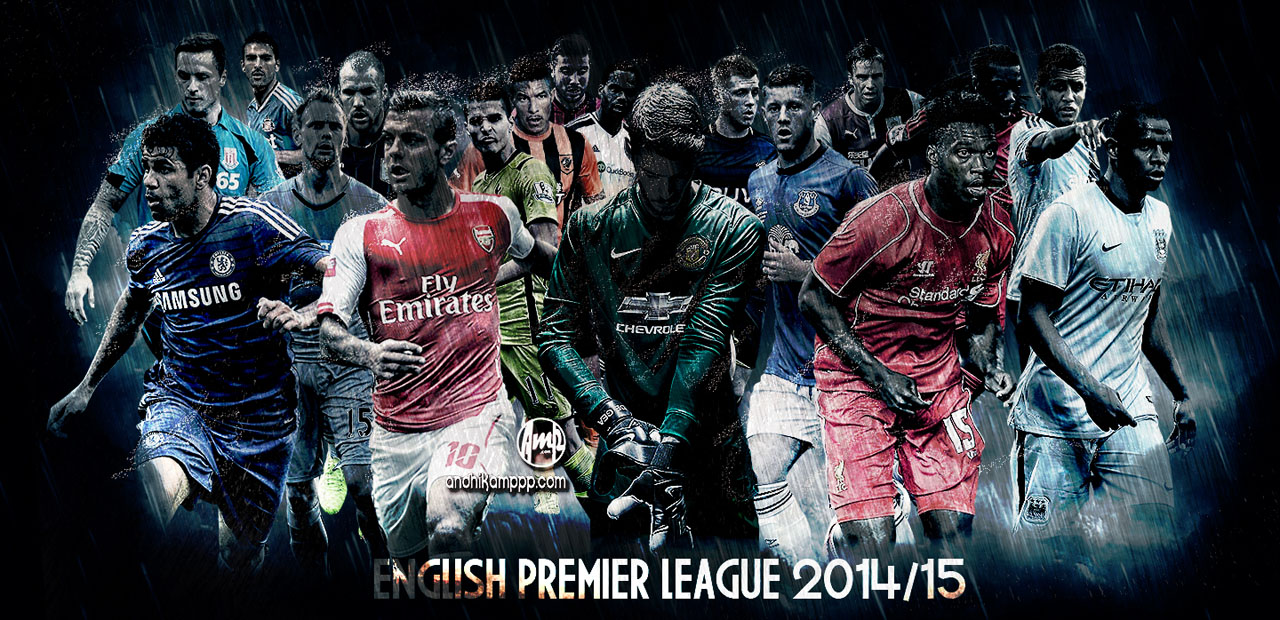 Barclays premier league 2014 2015 wallpaper and poster