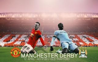 Manchester United Rooney vs Manchester City Yaya Touré