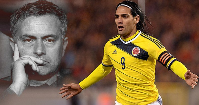 Mourinho and Radamel Falcao together in Chelsea
