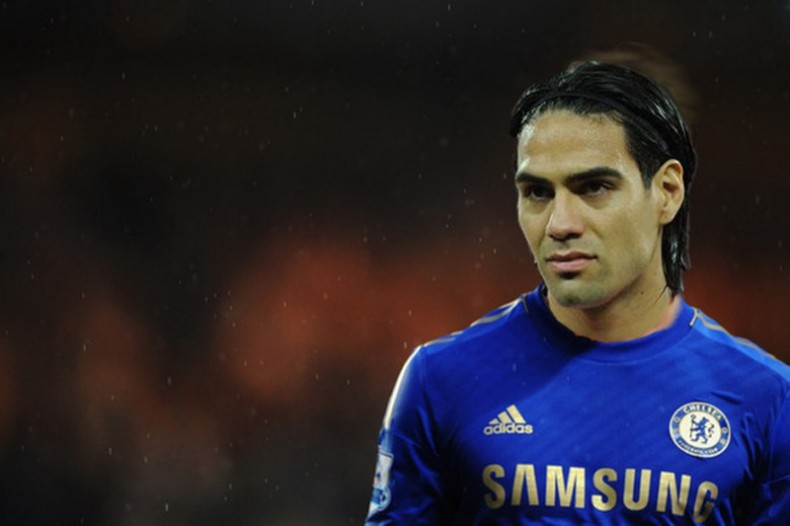 Radamel Falcao in Chelsea 2015-2016