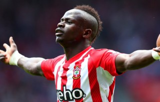 Sadio Mane in Southampton 2015-2016