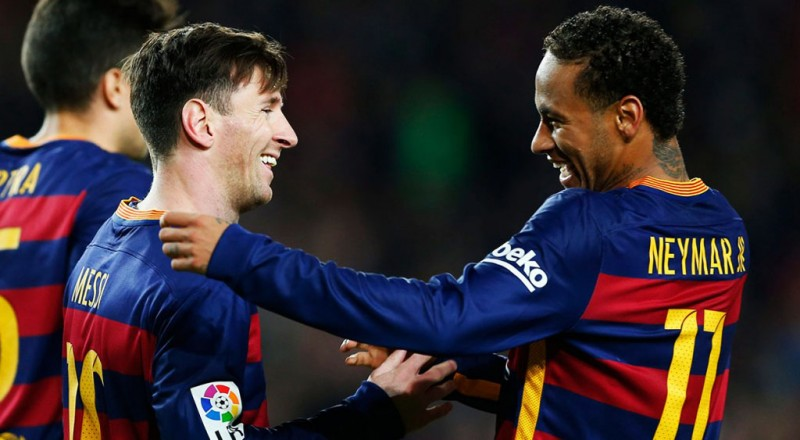 Messi and Neymar, Barcelona nominees for the 2015 FIFA Ballon d'Or