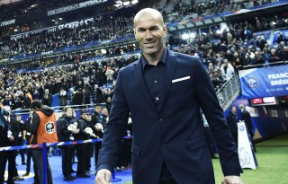 Zinedine Zidane Real Madrid manager for 2016