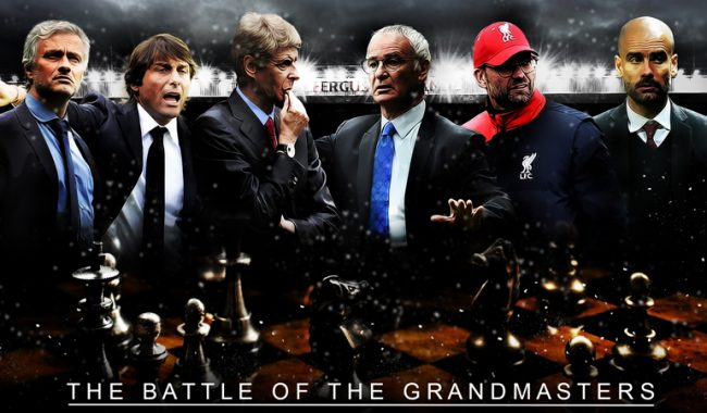 The Barclays Premier League 2016-2017 managers wallpaper