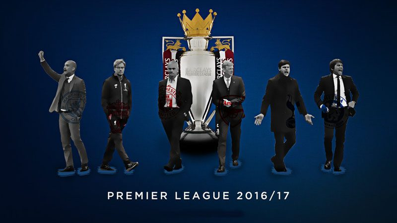 The Premier League 2016-2017 wallpaper