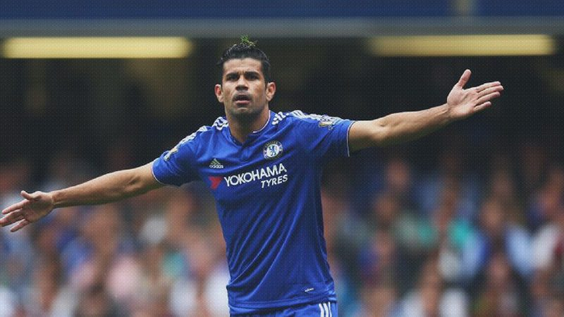 Diego Costa in Chelsea FC in 2016