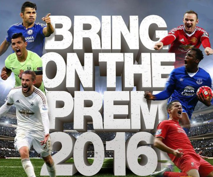 Premier League football in 2016