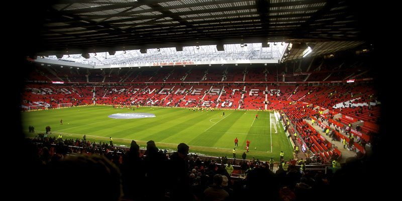 Manchester United Old Trafford view