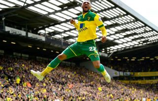 Norwich in the Championship in 2016-2017