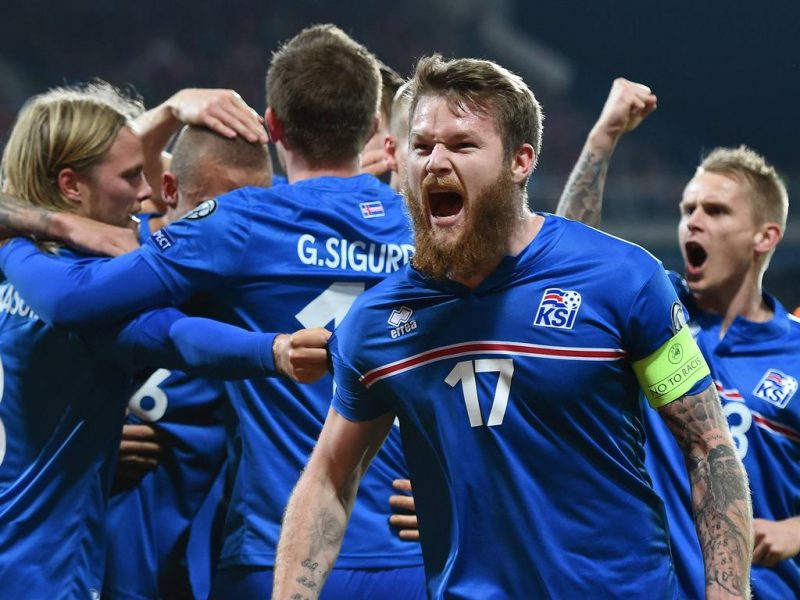 Iceland celebrations in the EURO 2016