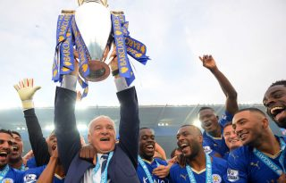 Leicester City and Ranieri Premier League champions in 2016