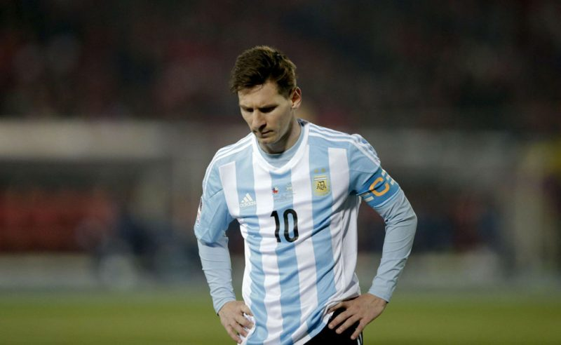 Lionel Messi and Argentina disappointment