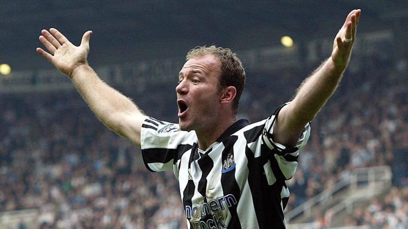 Alan Shearer in Newcastle United