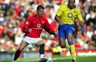 Cristiano Ronaldo vs Henry in Man Utd vs Arsenal