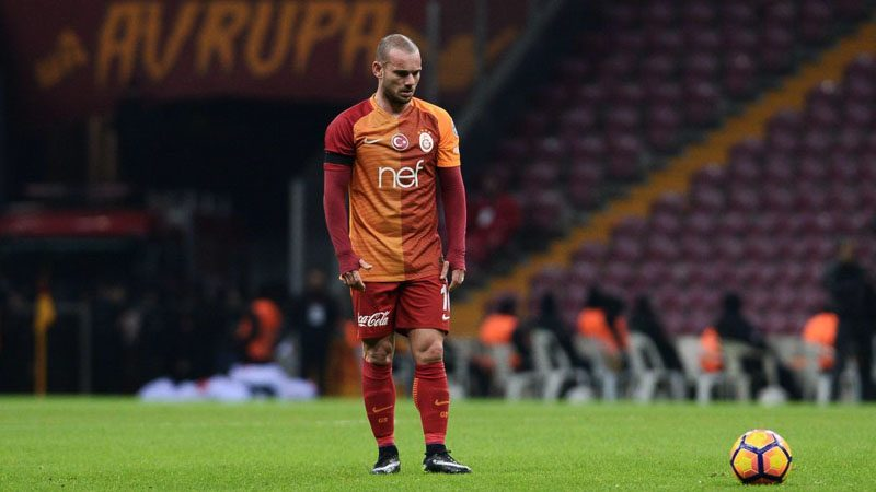 Wesley Sneijder in Galatasaray in 2017