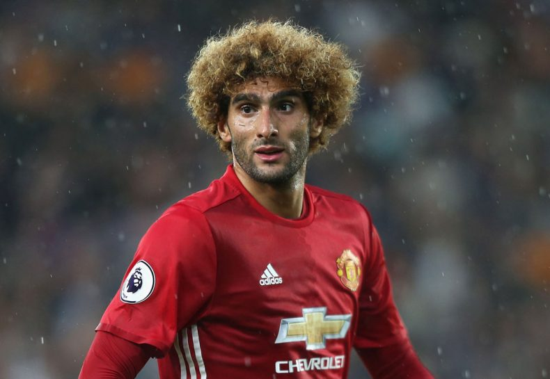 Marouane Fellaini in Manchester United in 2017