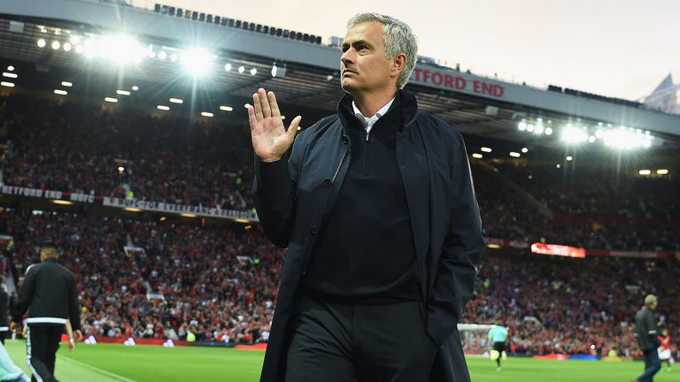 José Mourinho - Manchester United manager in 2017-2018