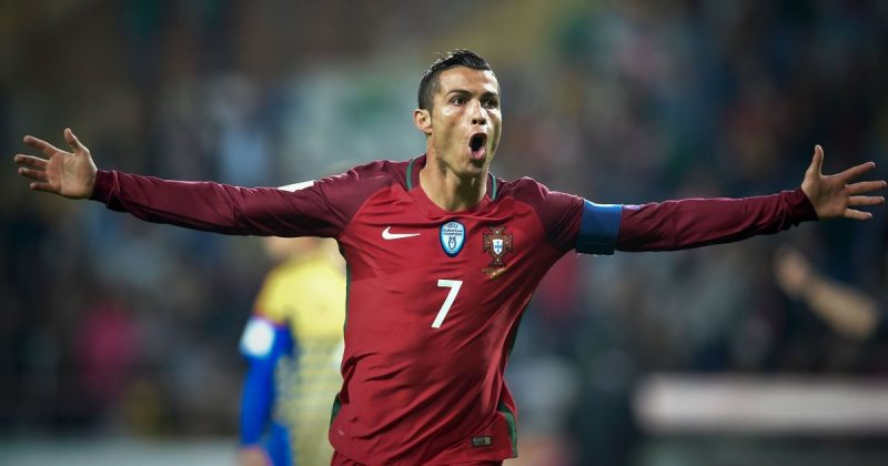 Cristiano Ronaldo in Portugal - FIFA World Cup 2018