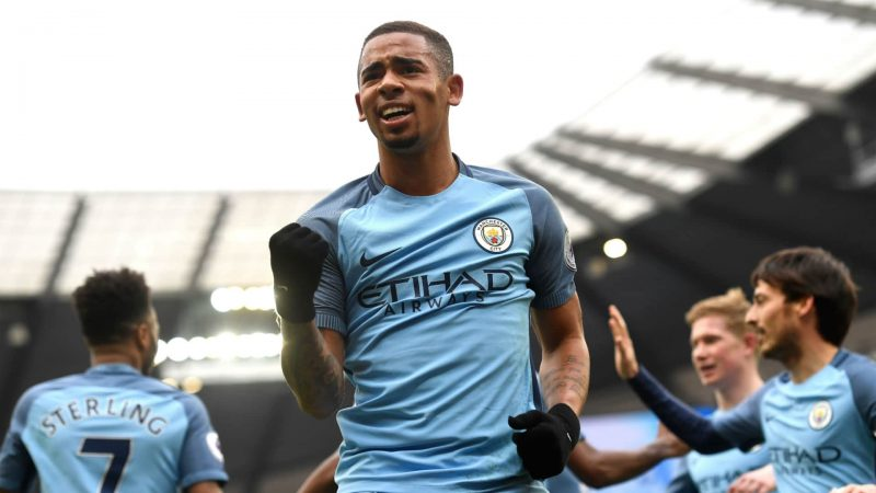 Gabriel Jesus in Manchester City