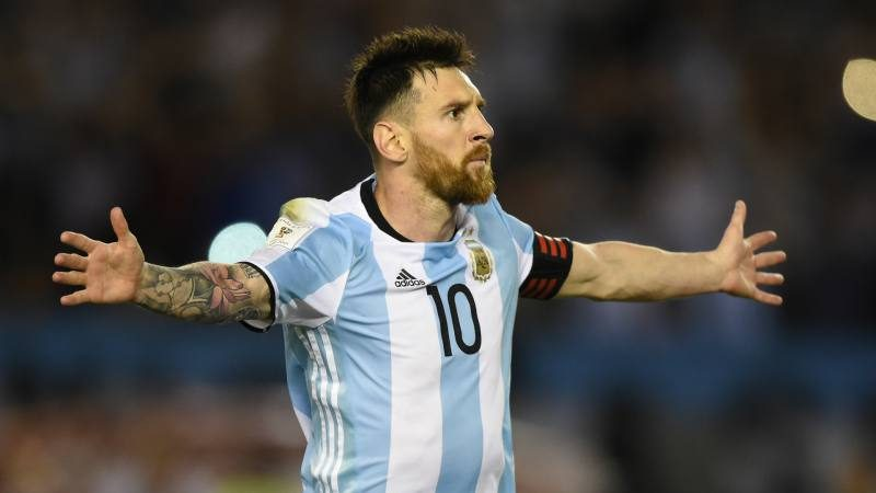 Lionel Messi in Argentina - FIFA World Cup 2018