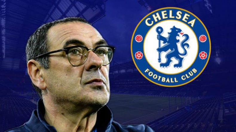 Maurizio Sarri Chelsea FC new manager in 2018