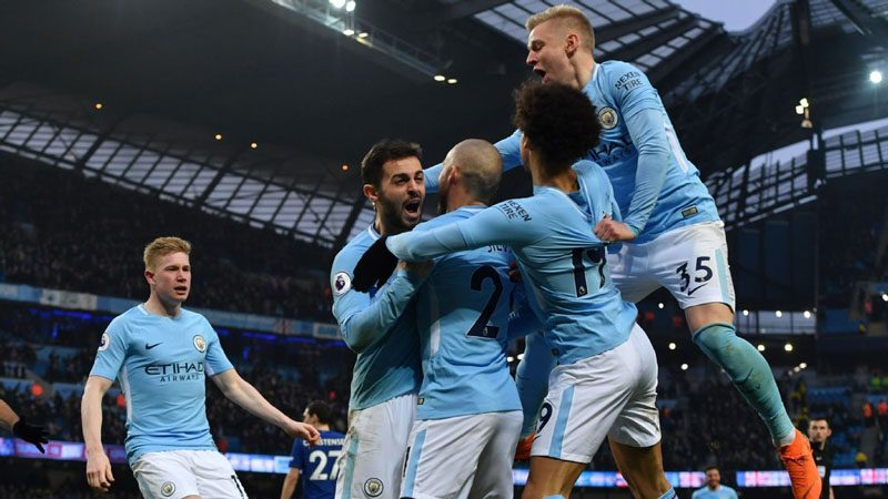 Premier League champions in 2018, Manchester City