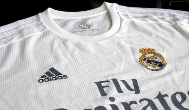 Adidas and Real Madrid sponsorship deal