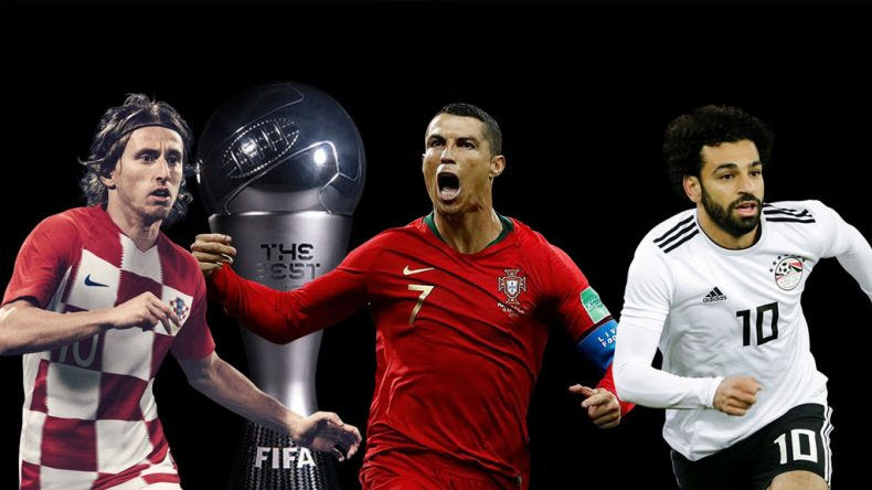 FIFA The Best 2018 - Modric, Ronaldo and Salah