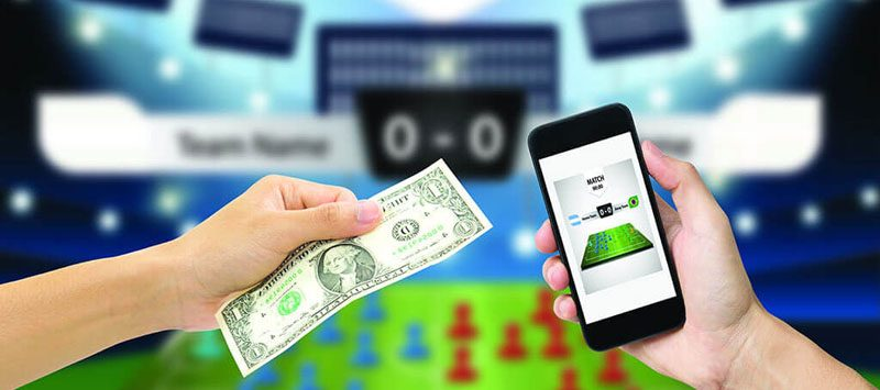 Online betting on mobile devices