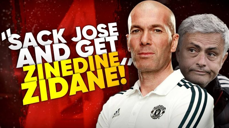 Zidane could be Mourinho's replacement in Man United