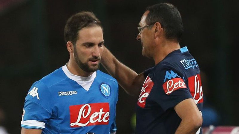 Higuaín and Sarri will meet again after first experience in Napoli