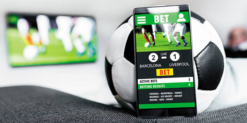 Mobile betting from home
