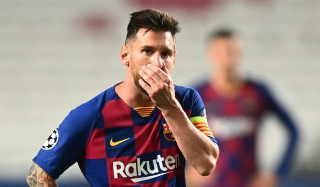 Messi unhappy at Barcelona