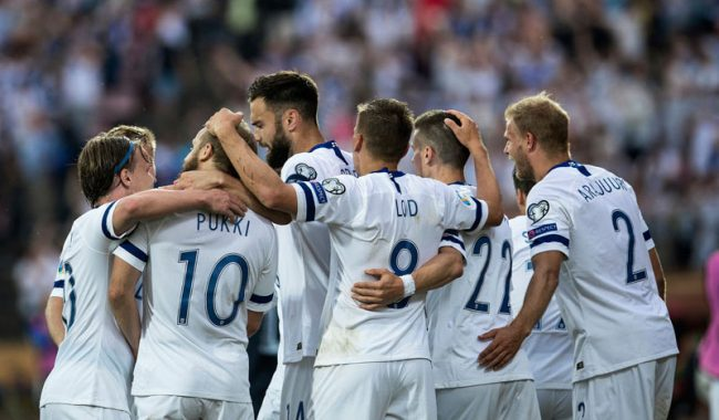 Finland National Team united to make history